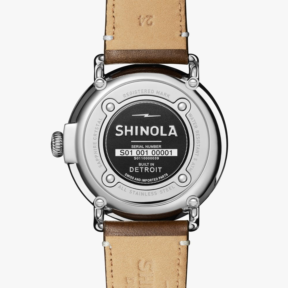 Shinola The Runwell Quartz (Cream Dial / 47mm)