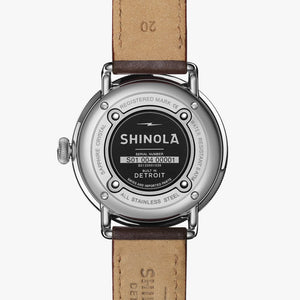 Shinola Canfield Quartz (Black Dial / 43mm)