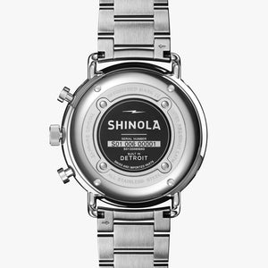 Shinola The Canfield Sport Chronograph Quartz (Blue Dial / 45mm)