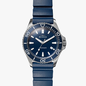 Shinola The Monster Lake Michigan Automatic (Blue Dial / 43mm)