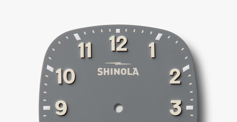 Shinola The Guardian Quartz (Grey Dial / 41.5mm)