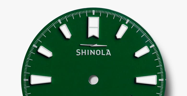 Shinola The Monster Lake Ontario Automatic (Green Dial / 43mm)