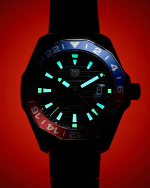 TAG Heuer Aquaracer Automatic GMT (Black Dial / 43mm)