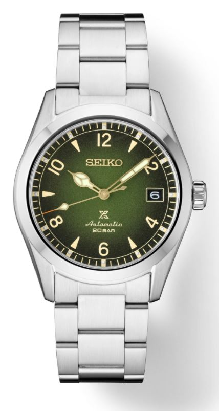 Seiko Prospex Alpinist SPB155 Automatic (Green Dial / 38mm)