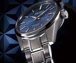 Seiko Presage Sharp Edged SPB167 Automatic (Blue Dial / 39mm)
