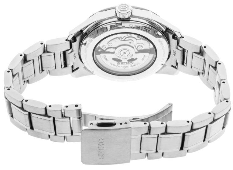 Seiko Presage Sharp Edged SPB165 Automatic (White Dial / 39mm)