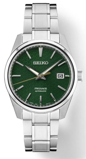 Seiko Presage Sharp Edged SPB169 Automatic (Green Dial / 39mm)