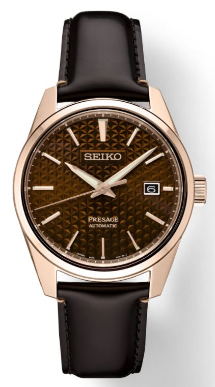 Seiko Presage Sharp Edged SPB170 Automatic (Brown Dial / 39mm)