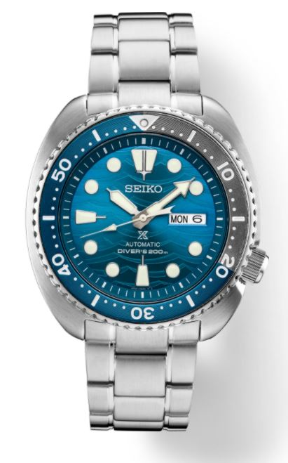 Seiko Prospex Diver Turtle 'Save The Ocean Limited Edition' SRPD21 Automatic (Blue Dial / 45mm)
