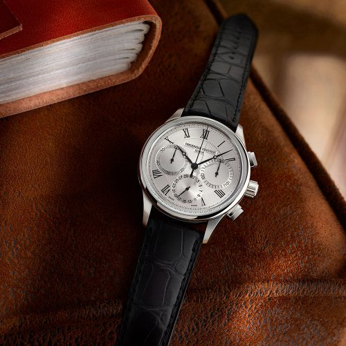 Frederique Constant Flyback Chronograph Manufacture Automatic (Silver Dial / 42mm)