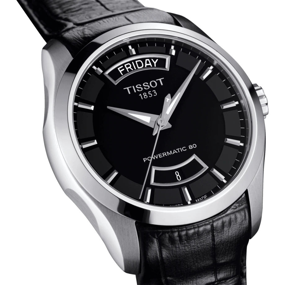Tissot Couturier Powermatic 80 (Black Dial / 39mm)