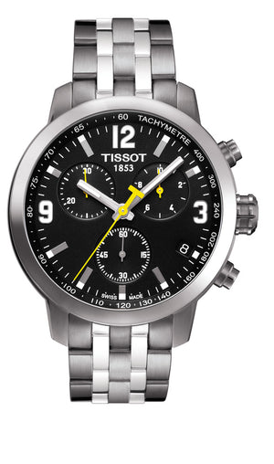 Tissot PRC 200 Chronograph Quartz (Black Dial / 41mm)