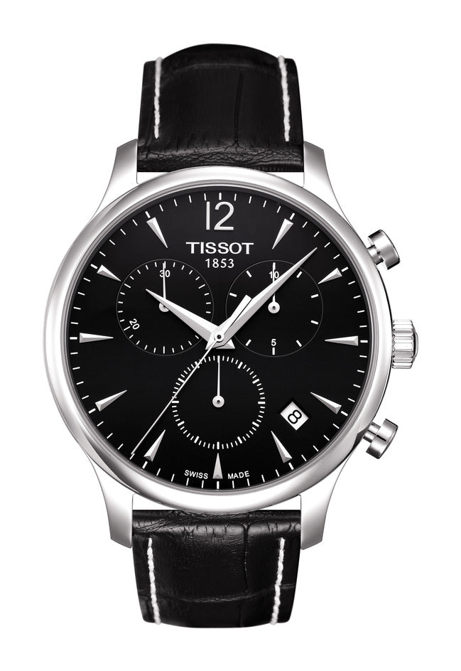 Tissot Tradition Quartz Chronograph (Black Dial / 42mm)