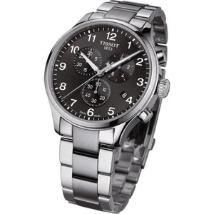 Tissot Chrono XL Quartz Chronograph (Black Dial / 45mm)