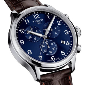 Tissot Chrono XL Quartz Chronograph (Blue Dial / 45mm)