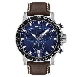 Tissot Supersport Chrono Quartz Chronograph (Blue Dial / 45.5mm)
