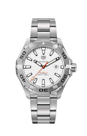TAG Heuer Aquaracer Automatic (White Dial / 43mm)