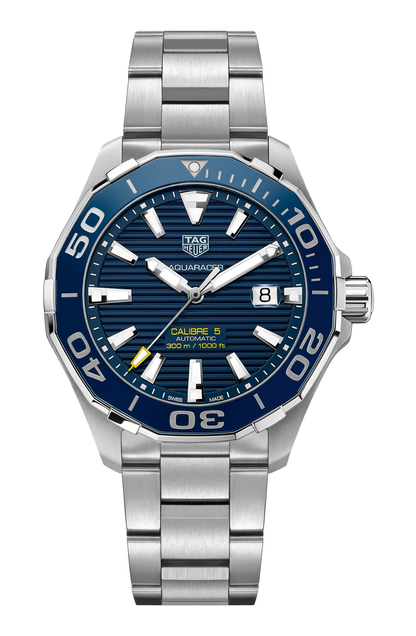 TAG Heuer Aquaracer Automatic (Blue Dial / 43mm / Ceramic)