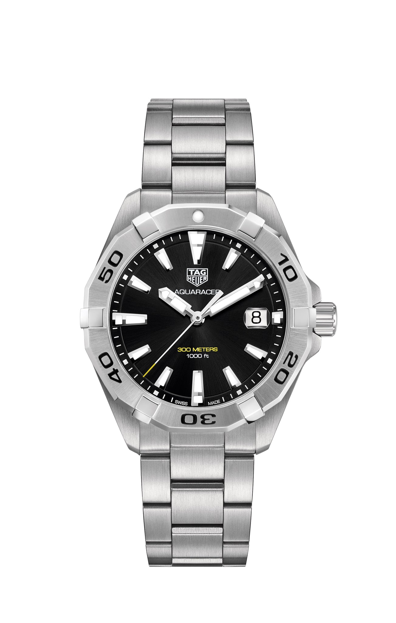 TAG Heuer Aquaracer Quartz (Black Dial / 41mm)