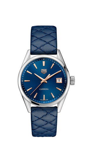 TAG Heuer Carrera Ladies Quartz (Blue Dial / 36mm)