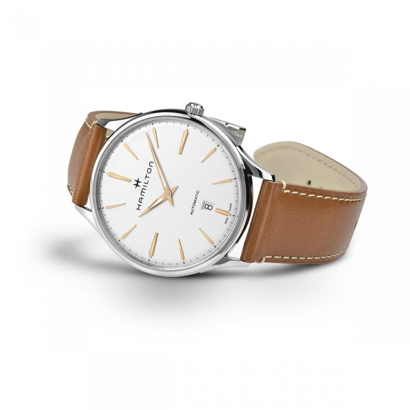 Hamilton Jazzmaster Thinline Auto (White Dial / 40mm)