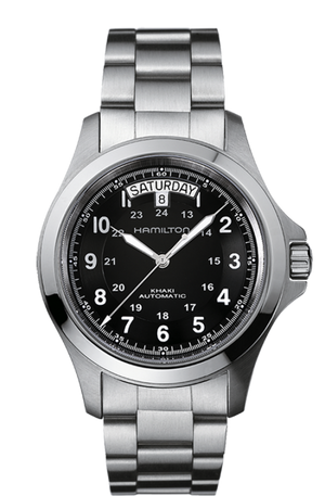 Hamilton Khaki Field King Auto (Black Dial / 40mm / Steel)