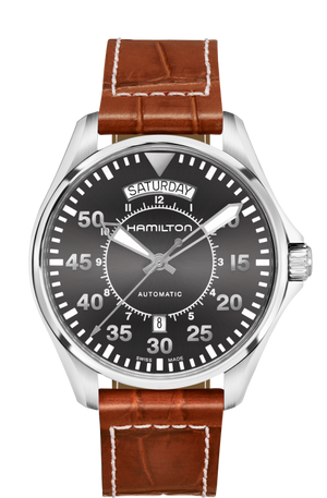 Hamilton Khaki Aviation Day Date Auto (Grey Dial / 42mm)