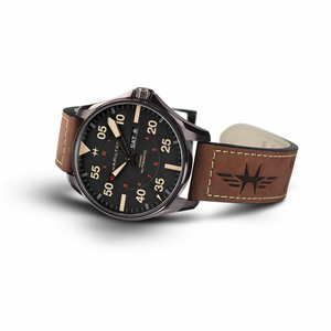 Hamilton Khaki Aviation Khaki Pilot Day Date Auto (Black Dial / 46mm)