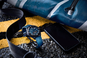 Alpina AlpinerX Alive Smartwatch  (Blue Dial / 45mm)