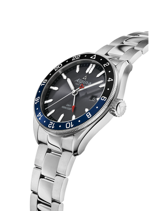 Alpina Alpiner Quartz GMT (Grey Dial / 42mm)