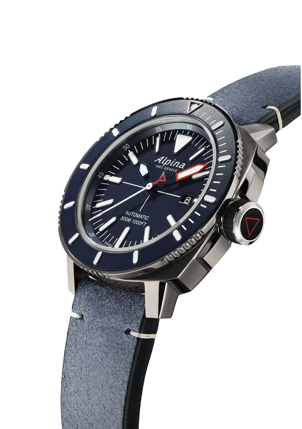 Alpina Seastrong Diver 300 Automatic (Blue Dial / 44mm)