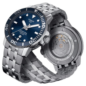 Tissot Seastar 1000 Powermatic 80 Silicium (Blue Dial / 43mm)