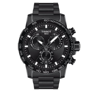 Tissot Supersport Chrono Quartz Chronograph (Black Dial / 45.5mm / Black PVD)