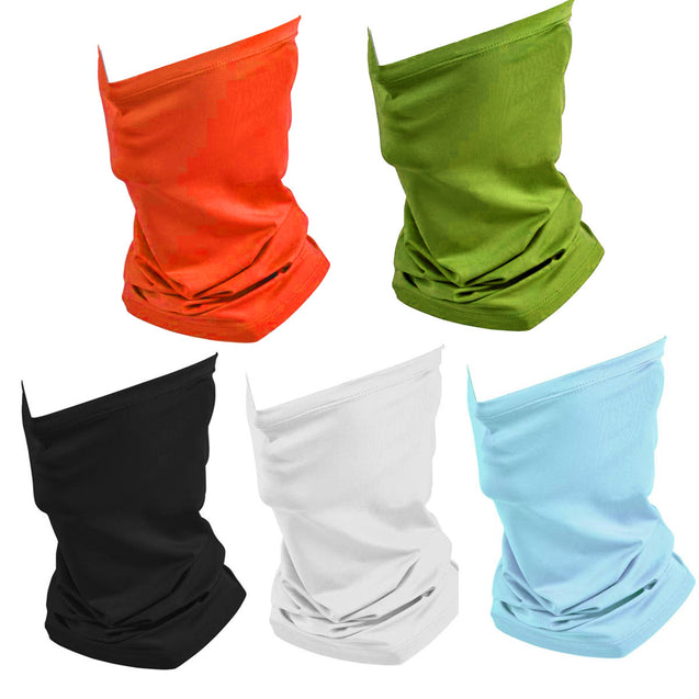 A dozen/10 pieces Bandana Head And Neck Wear for Dust Seamless Multicolor Print Multifunctional Headwear