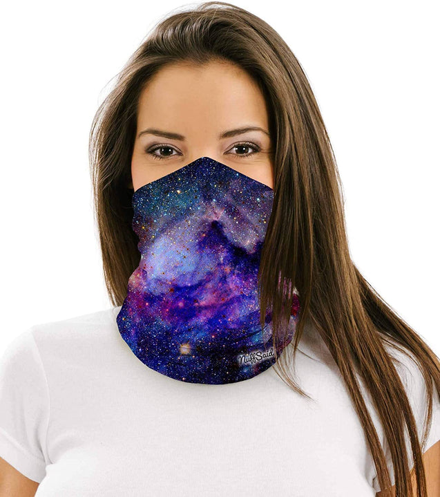 NuffSaid 12 in 1 Multifunctional Headwear Face Mask Headband Neck Gaiter