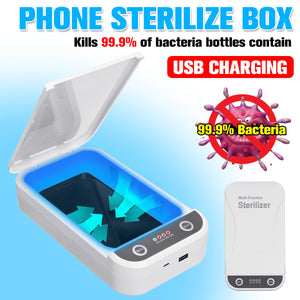 Portable Multifunction UV Light Phone Sterilizer Box