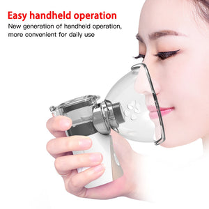 Inhaler Mesh Atomizer Mini Portable Nebulizer For Adults And Kids