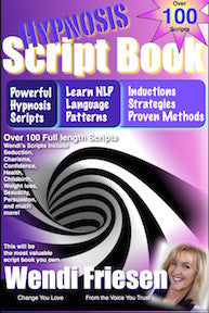 Script Book download- Hypnosis by Wendi Friesen