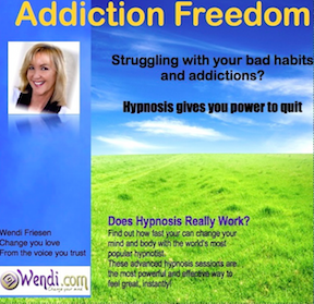 Addiction Freedom - Hypnosis CD by Wendi Friesen