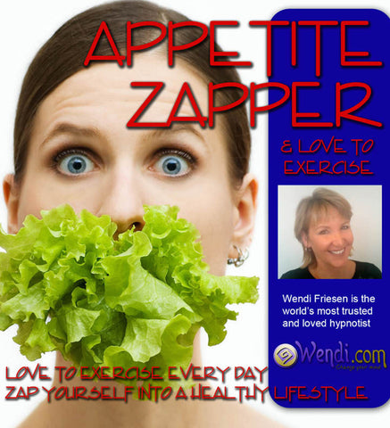 Appetite Zapper Hypnosis Diet CD- by Wendi Friesen