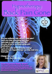 Back Pain Gone- Hypnosis CD by Wendi Friesen
