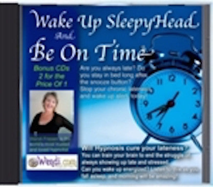 Be On Time- Wake Up- Hypnosis CD by Wendi Friesen