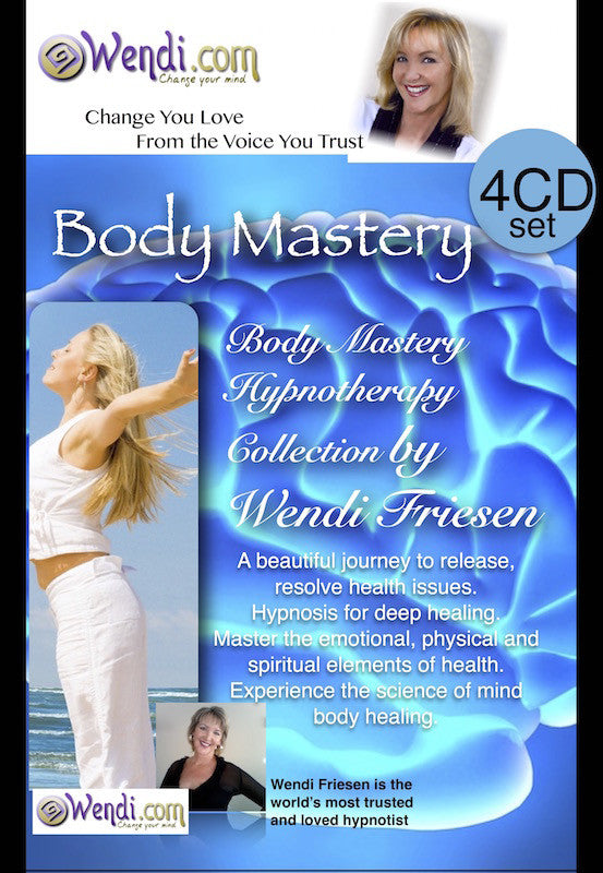 Body Mastery Healing Hypnosis CDs- by Wendi Friesen