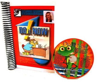 Do It Now- Procrastination Cure Hypnosis CD set-by Wendi Friesen