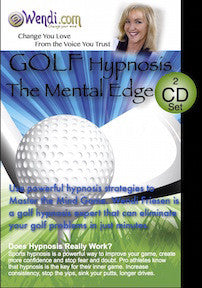 Golf Mental Edge Hypnosis CDs- by Wendi Friesen