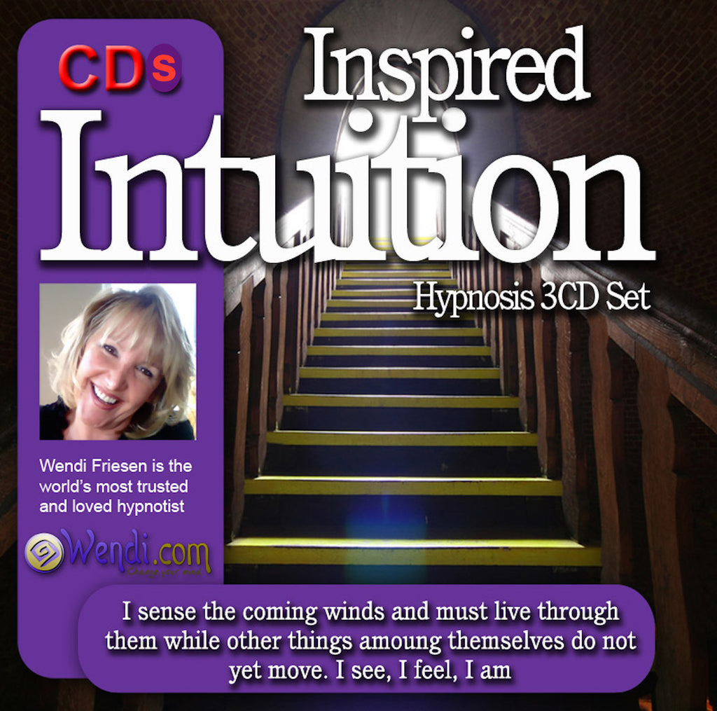 Intuition and Psychic Power hypnosis CD- by Wendi Friesen