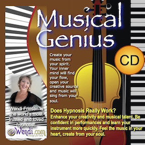 Musical Genius- Hypnosis CDs by Wendi Friesen