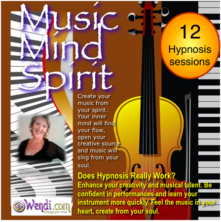 Music Mind and Spirit- Hypnosis Download by Wendi Friesen