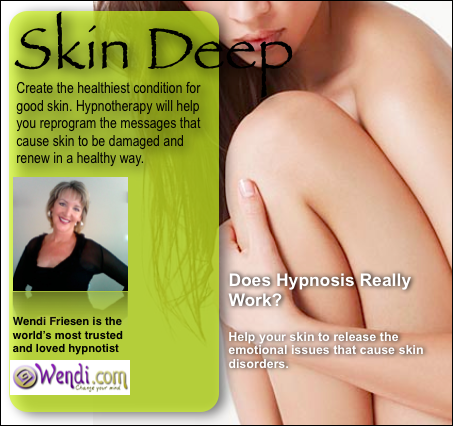 Skin Deep Hypnosis Healing- Download by Wendi Friesen
