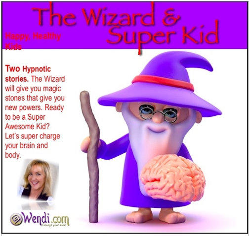 Child Bedtime Story- Wizard and Super Kid